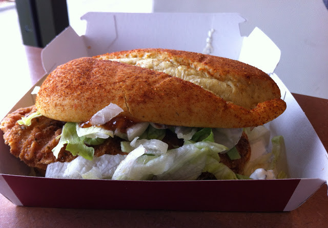 McDonald's Chicken and Chutney Indian