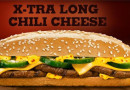 Burger King Limited Time Extra Long Chilli Cheese Beef