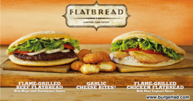 Burger King Flatbread
