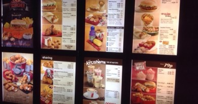 KFC Menu Prices