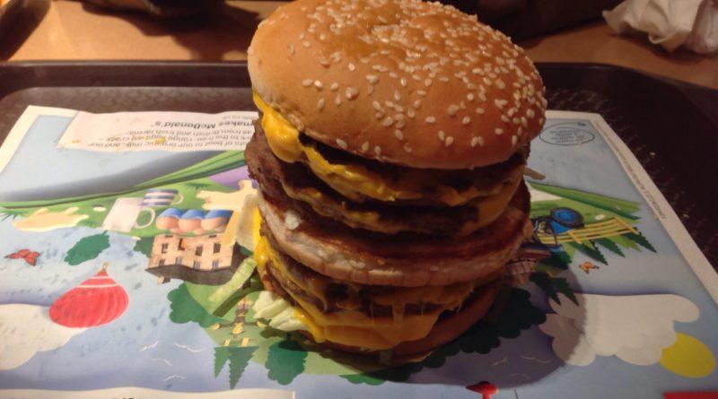 McDonald's Monster Mac UK