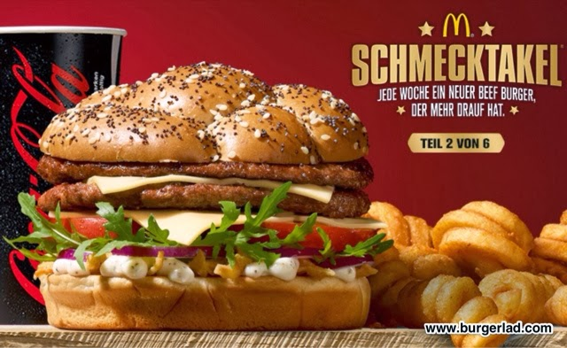 mcdonald 39 s germany caesar 39 s beef burger. Black Bedroom Furniture Sets. Home Design Ideas