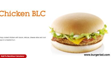 McDonald's Chicken BLC