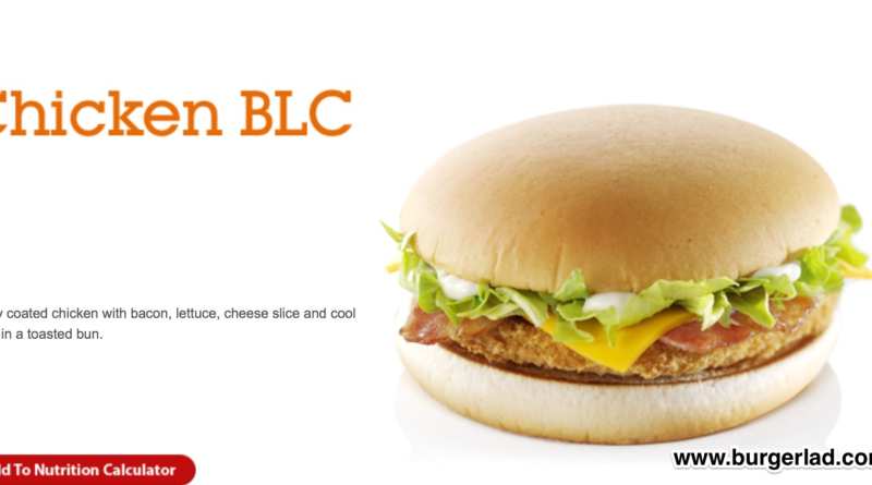 McDonald's Chicken BLC