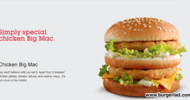 McDonald's Chicken Big Mac UK