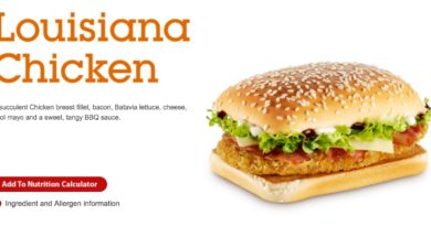 McDonald's Louisiana Chicken