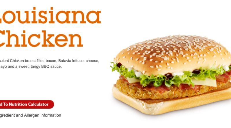 McDonald's Louisiana Chicken