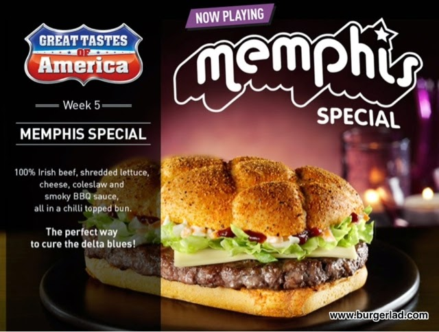 McDonald's Great Tastes of America - Memphis Special