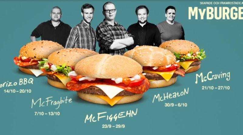 McD Sweden My Burger
