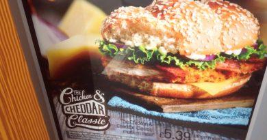 McDonald's Chicken & Cheddar Classic
