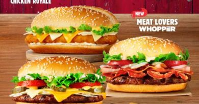 Burger King Meat Lovers Whopper