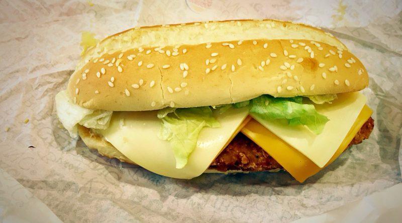 Burger King Quattro Cheese Chicken Royale
