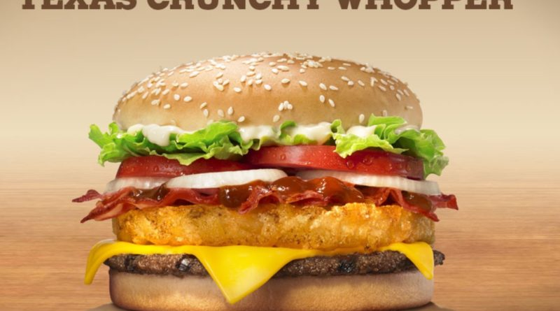 Burger King Texas Crunchy Whopper