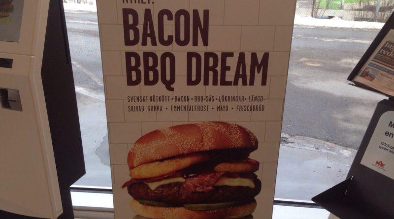 Max Burgers Bacon BBQ Dream