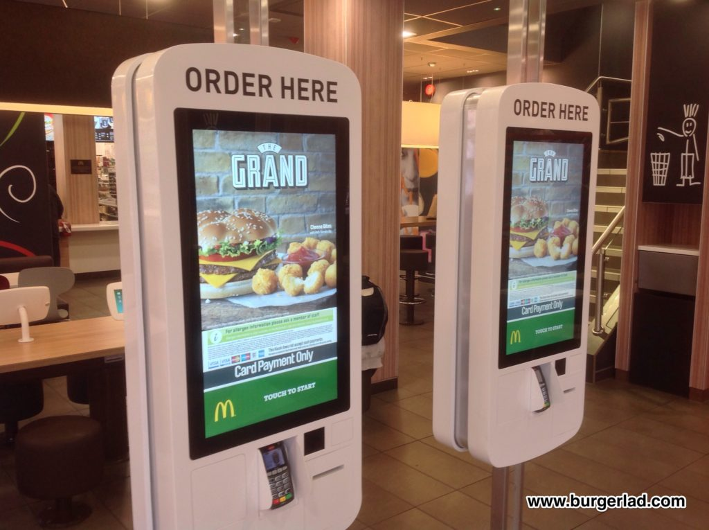 Mcdonald S Touch Screen Order Amp Collect Kiosk Demo