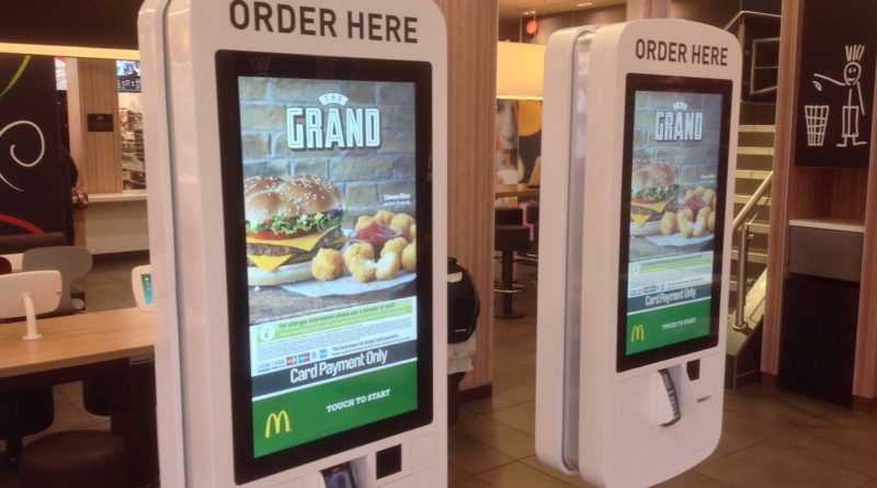 McDonald's Touch Screen