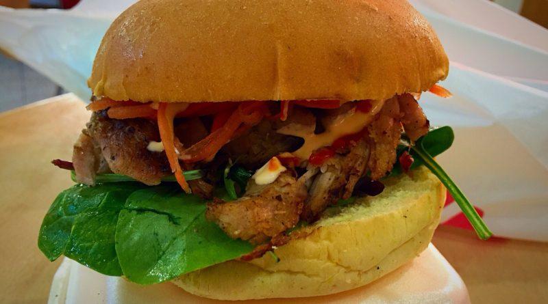 Viet Shack Chicken Burger