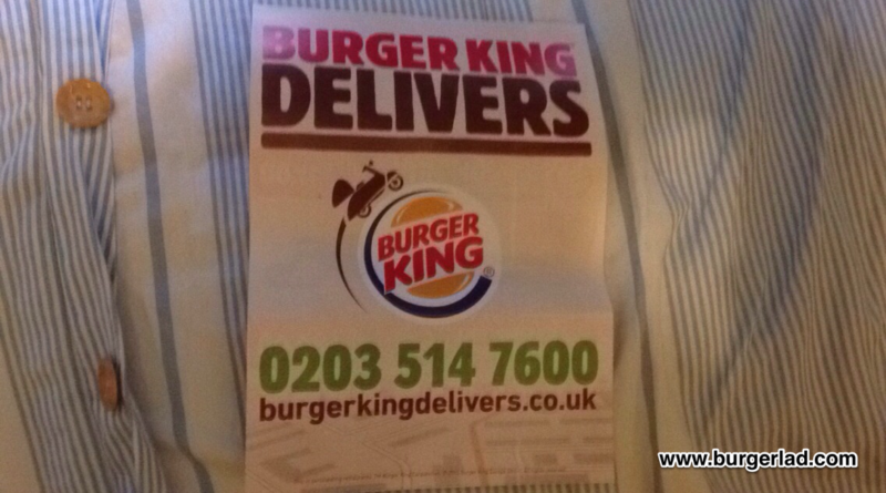 Burger King Delivery UK