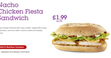 McDonald's Nacho Chicken Fiesta Sandwich