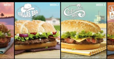 McDonald's Great Tastes of America 2015
