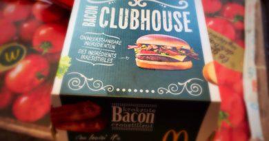 McDonald's Bacon Clubhouse