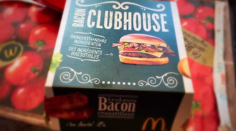 McDonald's Bacon Clubhouse