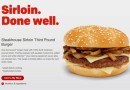 McDonald's USA Steakhouse Sirloin Third Pound Burger