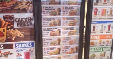 Burger King USA Menu Prices