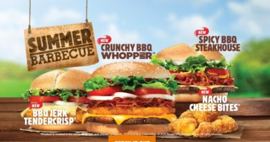 Burger King Summer Barbecue 2015