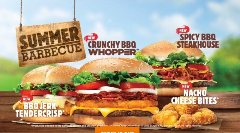Burger King Summer Barbecue 2015