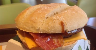 McDonald's Sausage & Bacon Sandwich