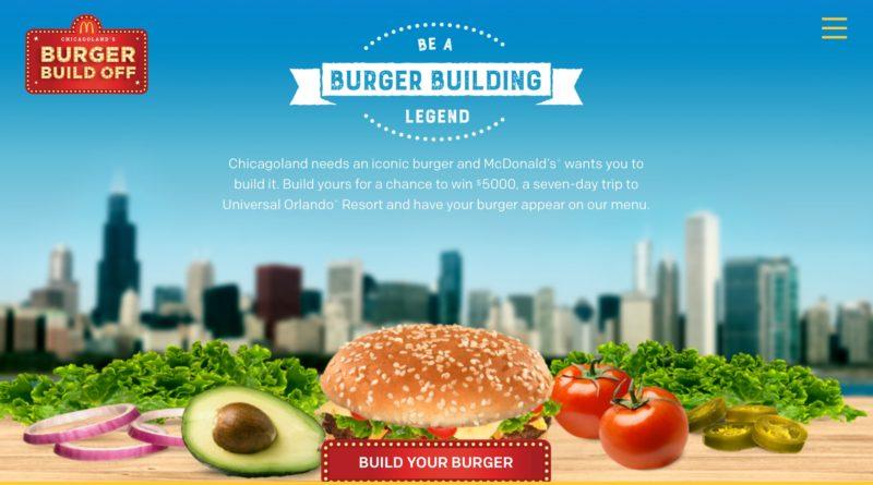 McDonald's Burger Build Off