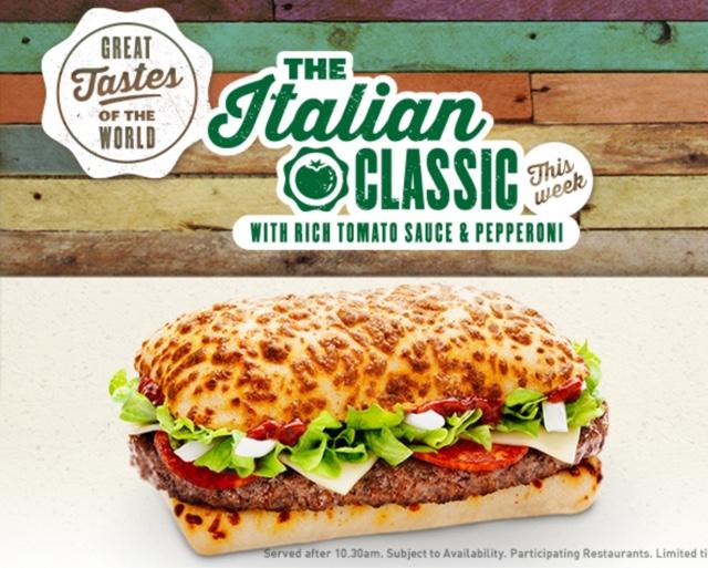 burger reviews mcdonald s mcdonald s the italian classic 9th september ...