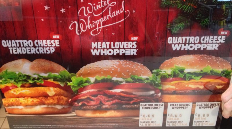 Burger King Winter Whopperland