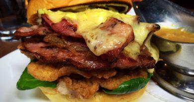 Hawksmoor Christmas Burger 2015