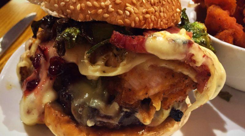 Solita Christmas Burger 2015