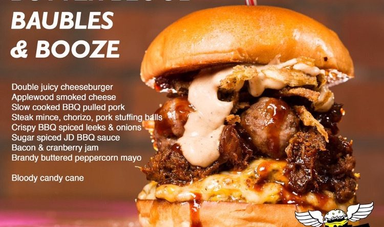 Almost Famous Christmas Burgers 2015