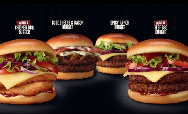 Surf Burgers >> McDonald's France Signature Collection