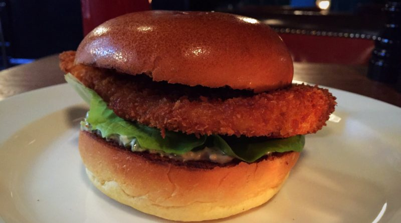 Hawksmoor - Fish Burger