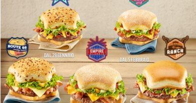 McDonald's Italy Great Tastes of America
