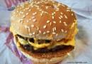 Burger King Double Chilli Cheeseburger