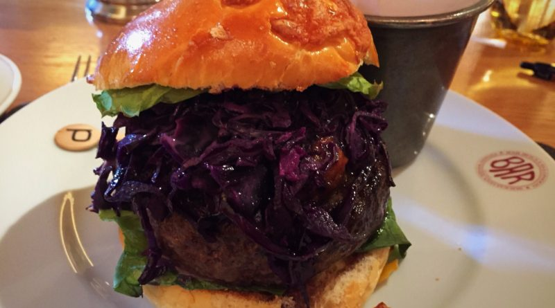 Bar Boulud London Piggie Burger
