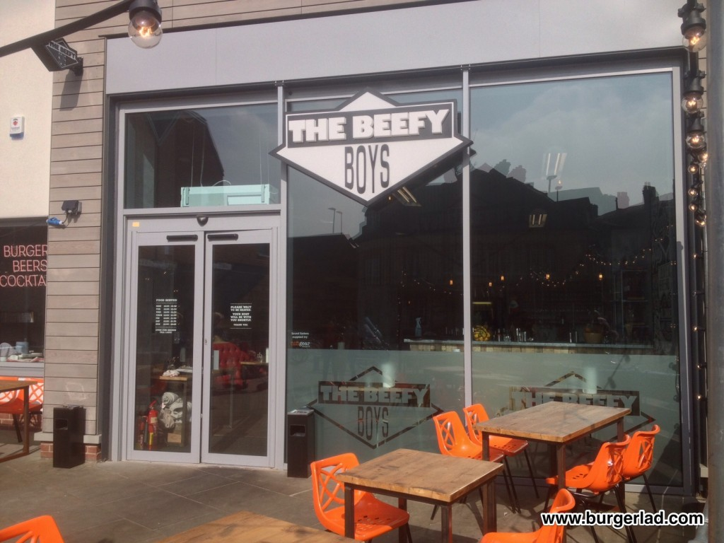 The Beefy Boys The Butty Back Burger Review