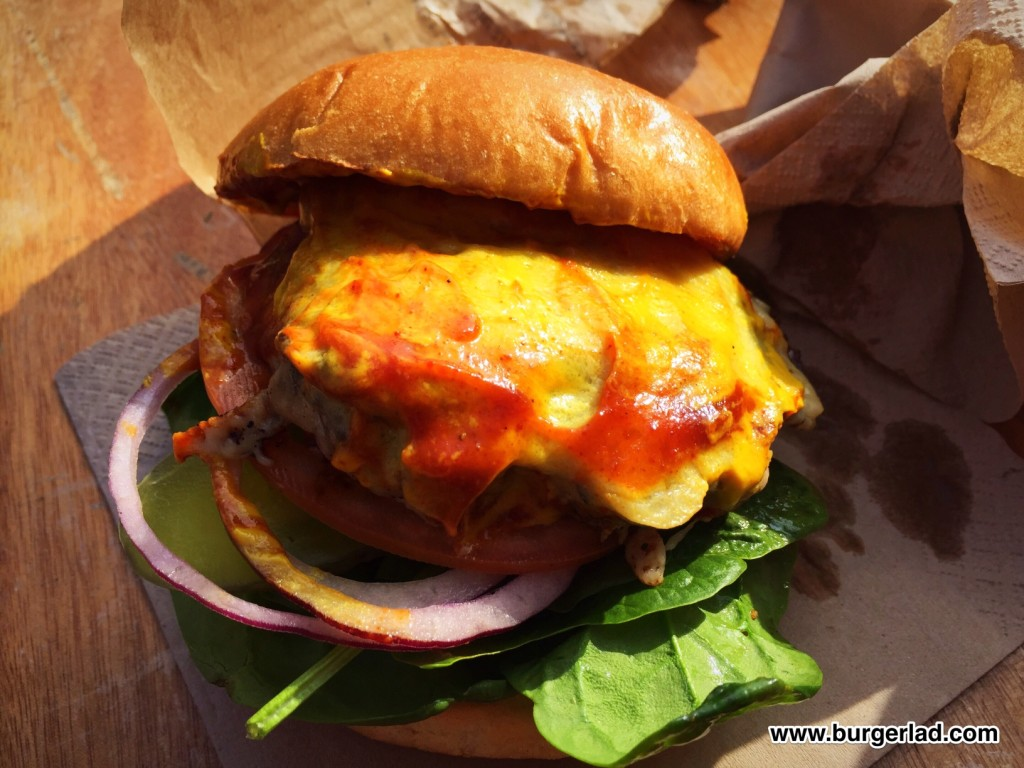 What's Your Beef Stateside Deluxe Burger Review