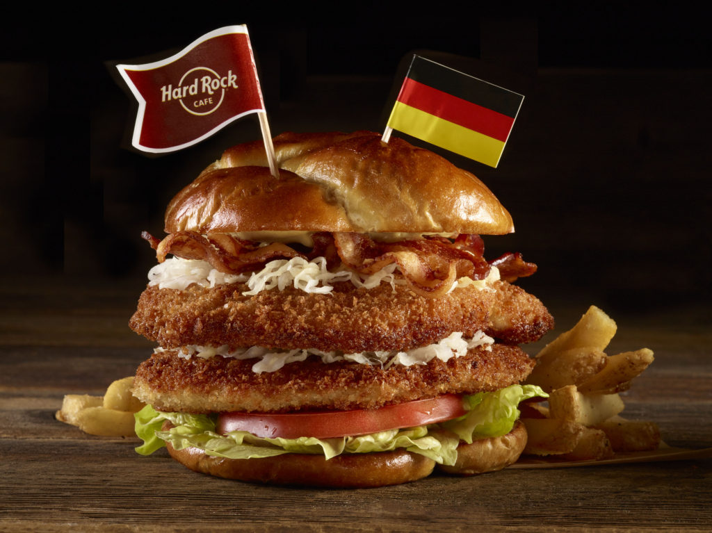 Hard Rock Café World Burger Tour