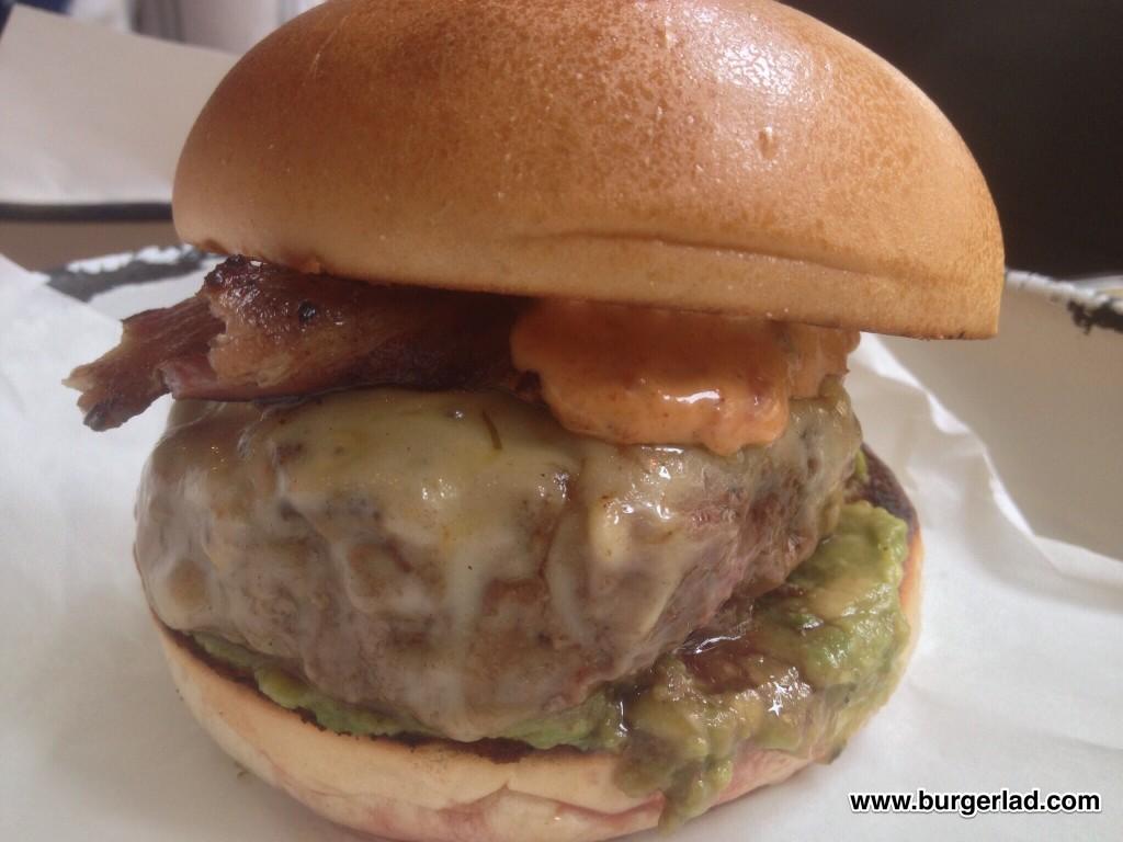Honest Burgers Guac Burger