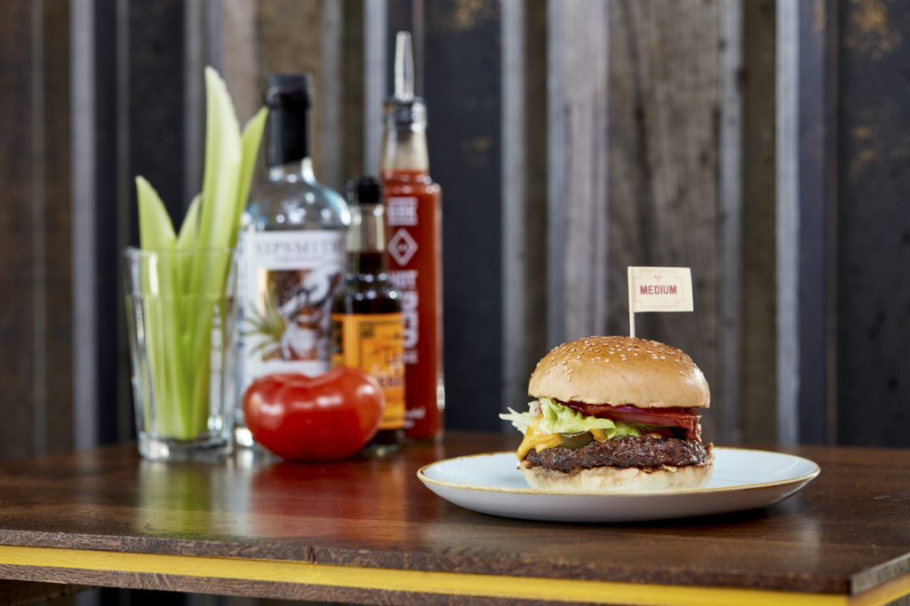GBK Bloody Mary Burger