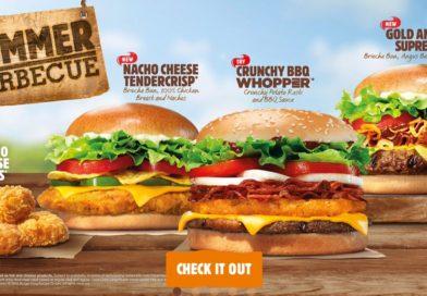 Burger King Summer Barbecue 2016