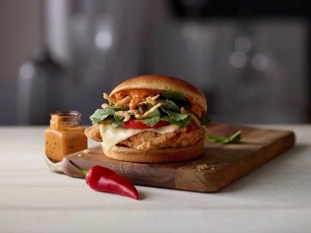 McDonald's Signature Sriracha Sandwich