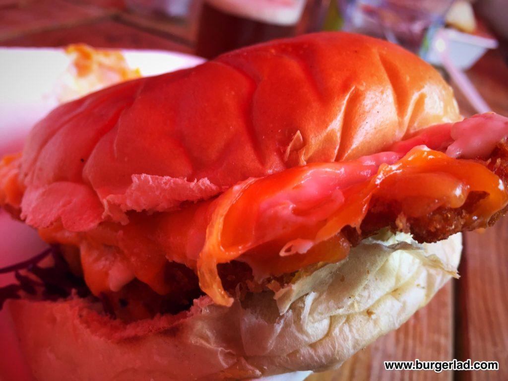 ParmStar Parmo Burger